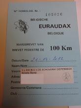 Photo: mijn brevet, Daniël en gans uw team bedankt voor de service en mooie tocht