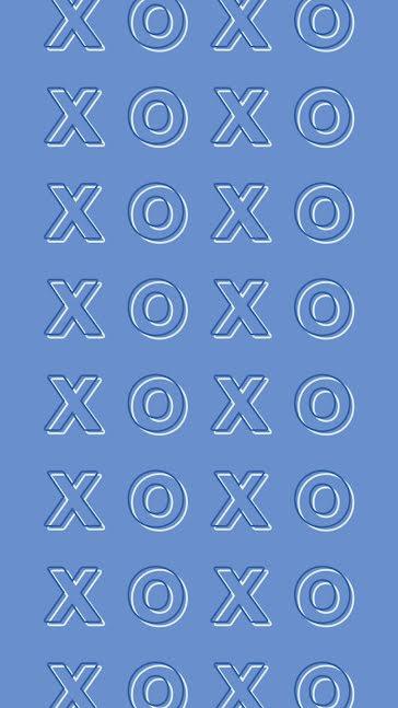 XOXOXOXO - Valentine's Day Template