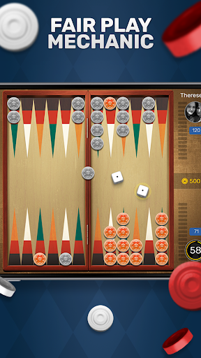 Free Backgammon Go: Best online dice & board games 2.9.1 gameplay | by HackJr.Pw 3