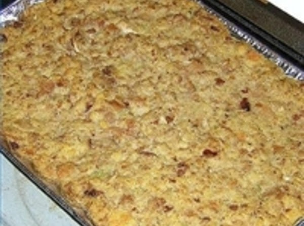 Fannie's Cornbread Dressing Recipe