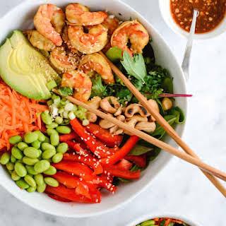 Vietnamese Shrimp Edamame Salad.