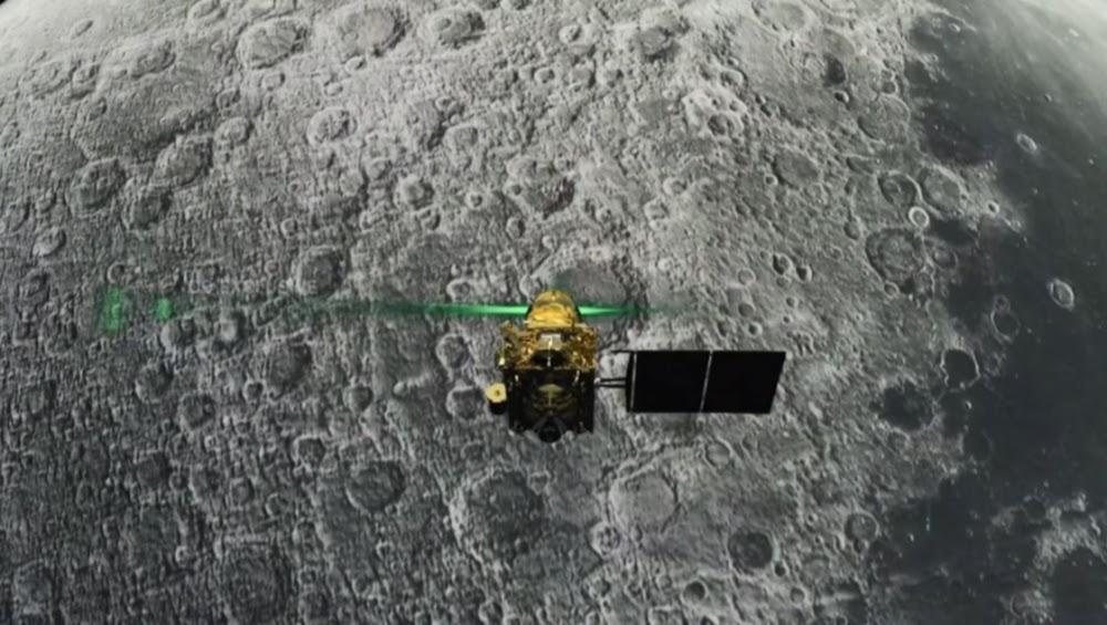 Indië verloor kontak met Moonlander oomblikke voor die landing