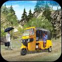 Off Road Tuk Tuk Rickshaw : Passenger Transport 3D icon