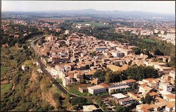 Photo: Veduta aerea sul centro storico. Anni '90.