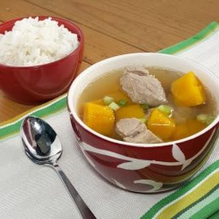Vietnamese Pork and Pumpkin Soup