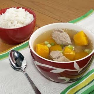 Vietnamese Pork and Pumpkin Soup.