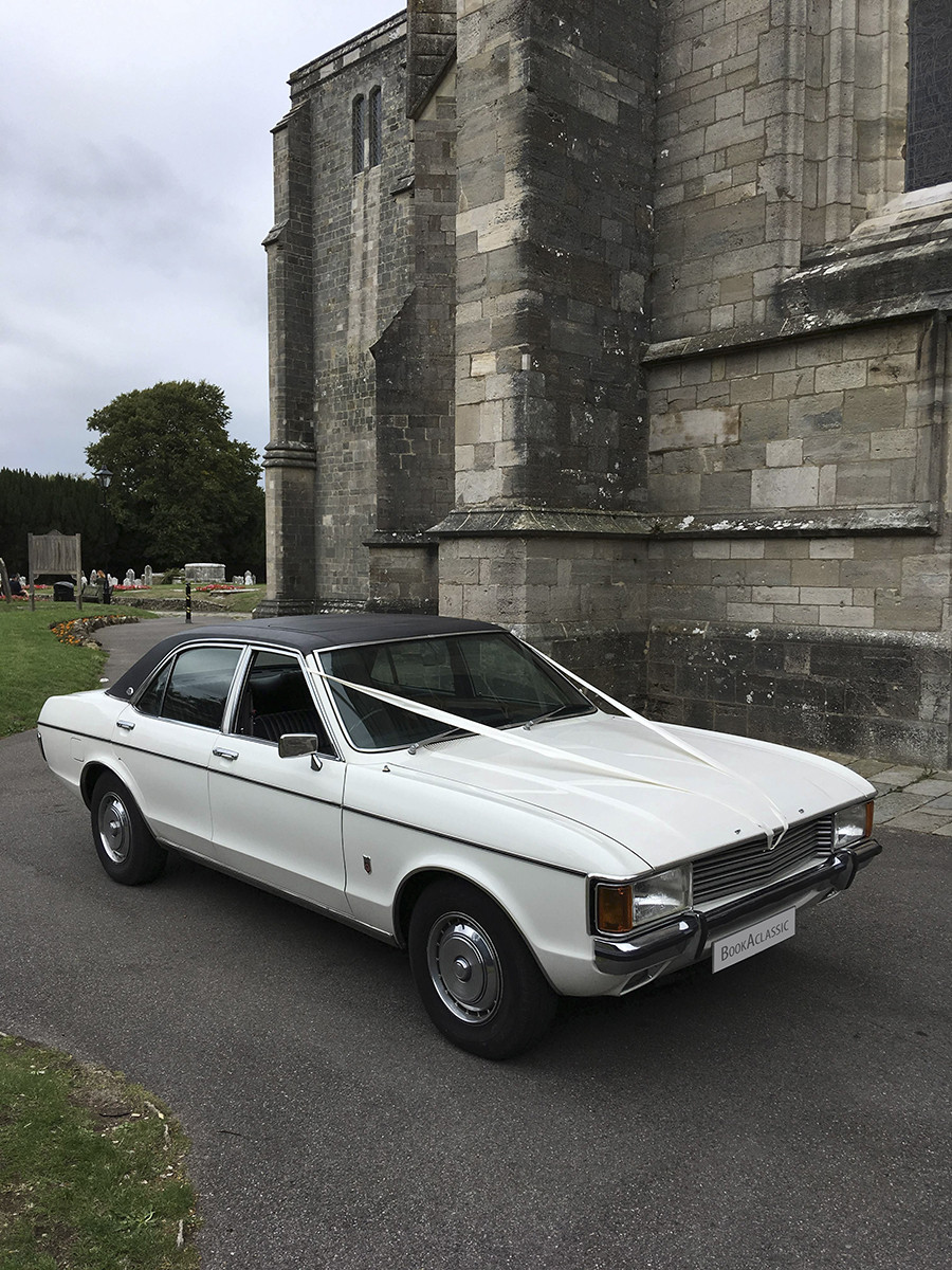 Ford Granada 3.0 Gxl Saloon Hire Bournemouth