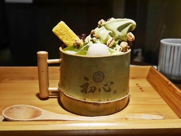 初心菓寮---阿默蛋糕旗下抹茶專賣店。日式鹹食甜食任君挑選