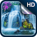 Waterfall Live Wallpaper HD icon