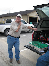 Photo: Clark Musgrove by Bob Sanford's supplies.