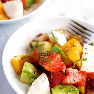 Heirloom Tomato Salad with Buratta