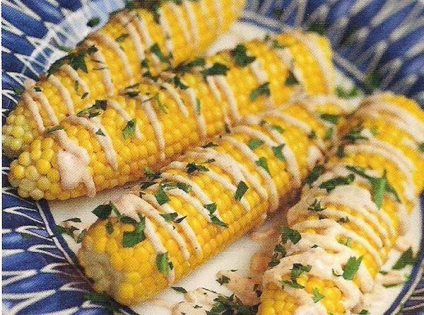 Drizzled Corn On The Cob Recipe