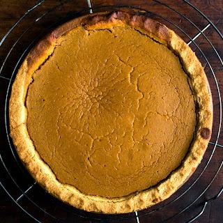 Savory Roasted Pumpkin Pie