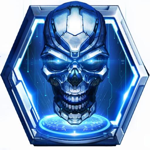 Future Tech Skull Live Wallpaper