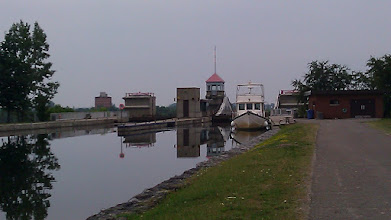 Photo: Early morning at the lift lock