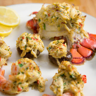 Stuffed Lobster, Stuffed Shrimp and Stuffed Mushrooms for the Holidays!.