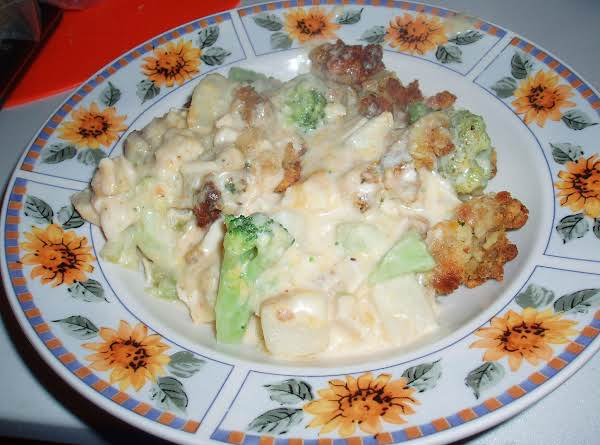 Chicken, Broccoli And Stuffing Casserol (my Way) Recipe