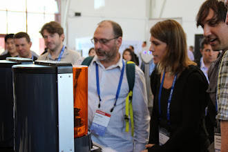 Photo: Revealed Autodesk's 3D Printer Ember at REAL2015 Main Hall