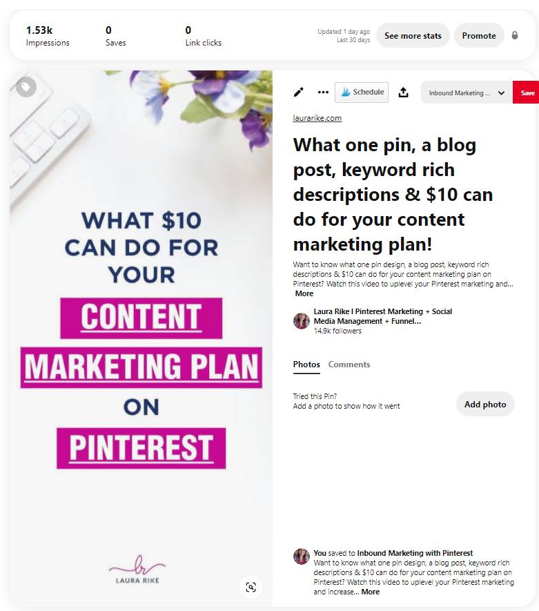 how to schedule pinterest posts