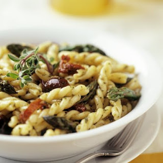 Olive and Tomato Pasta Bowl