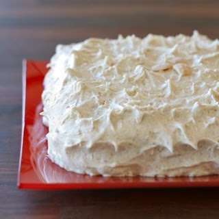 Seven Spice Cake with Browned Butter Frosting.