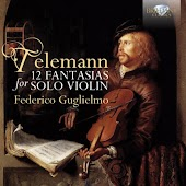 Telemann: 12 Fantasias for Violin Solo