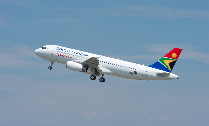 A South African Airways Airbus A320. Picture: SAA