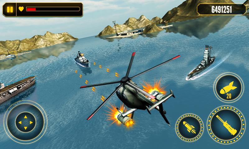 Helicopter Battle 3D- screenshot