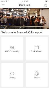 Avenue App - náhled