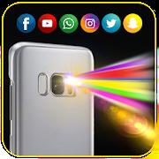 Color Flash Light Alert Call