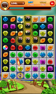 Jewel Mania Match 3: Matrix Puzzle - náhled