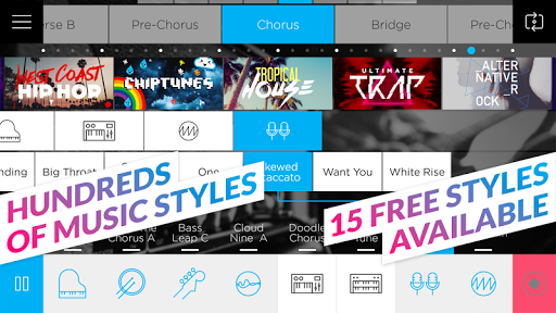 Music Maker JAM 4.1.16.0 screenshots 2