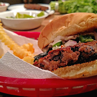 Pepper Jack Black Bean Burgers