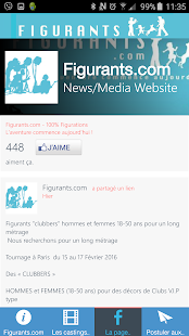 Figurants.com les castings- screenshot thumbnail