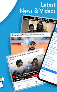 App Live Cricket Score, Video,News,Commentary - Rooter APK for Windows Phone