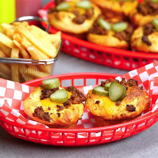 Cheeseburger Cups Are Essentially Bite Sized Perfection.