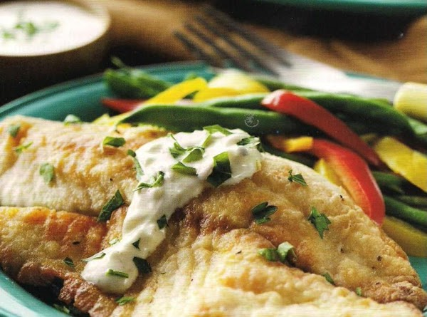 Tilapia Fillets In Boursin Sauce Recipe