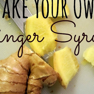 Make Your Own Ginger Syrup!
