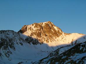 Photo: Sluncem ozářený Svišťový štít (2378 m)