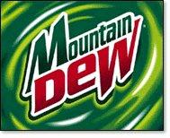 Logo for Mountain Dew