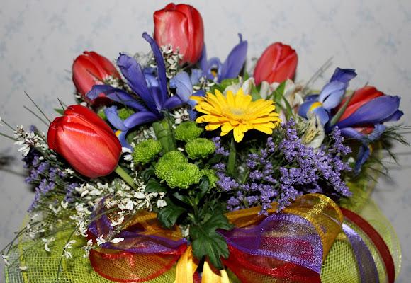 bouquet di primavera di bereza