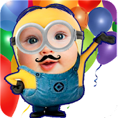 Yellow Minion Face Maker