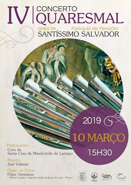 Coro da Misericórdia participa em Concerto Quaresmal na Penajóia