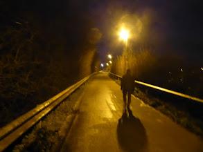 Photo: de brug en een glad wegdek pffffff...
