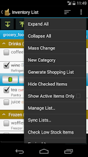Grocery Helper - Lite- screenshot thumbnail
