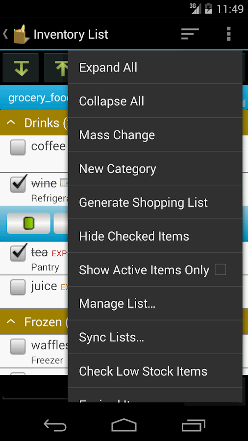 Grocery Helper - Lite- screenshot