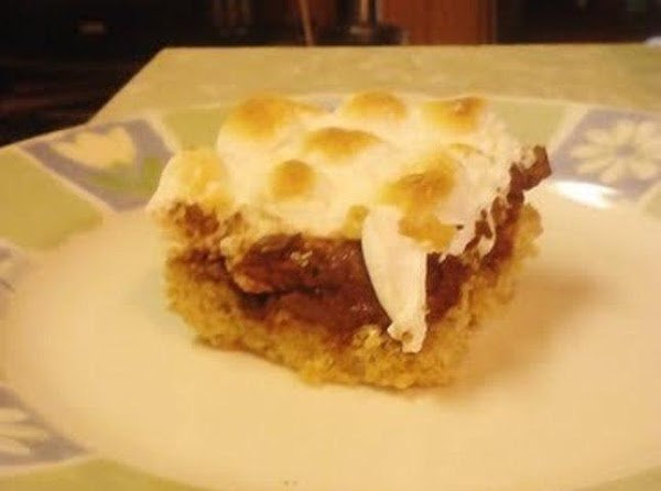 Gooey Toasted S'mores Bars Recipe