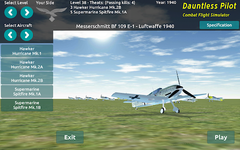 DP Aircraft Flight WW2 Combat v1.0007