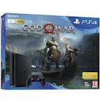 Sony Play Station 4 1TB E chassis + God of War