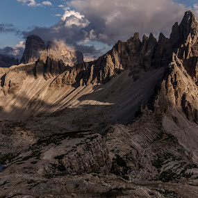 Dolomiti by Jeno Major - Landscapes Travel ( mountains, sunset, travel, landscape, italy )